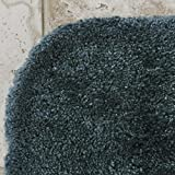 """Maples Rugs ColorSoft Non Slip Washable & Quick Dry Soft Bathroom Rugs [Made in USA], 20"""" x 34"""", Teal Quartz"""