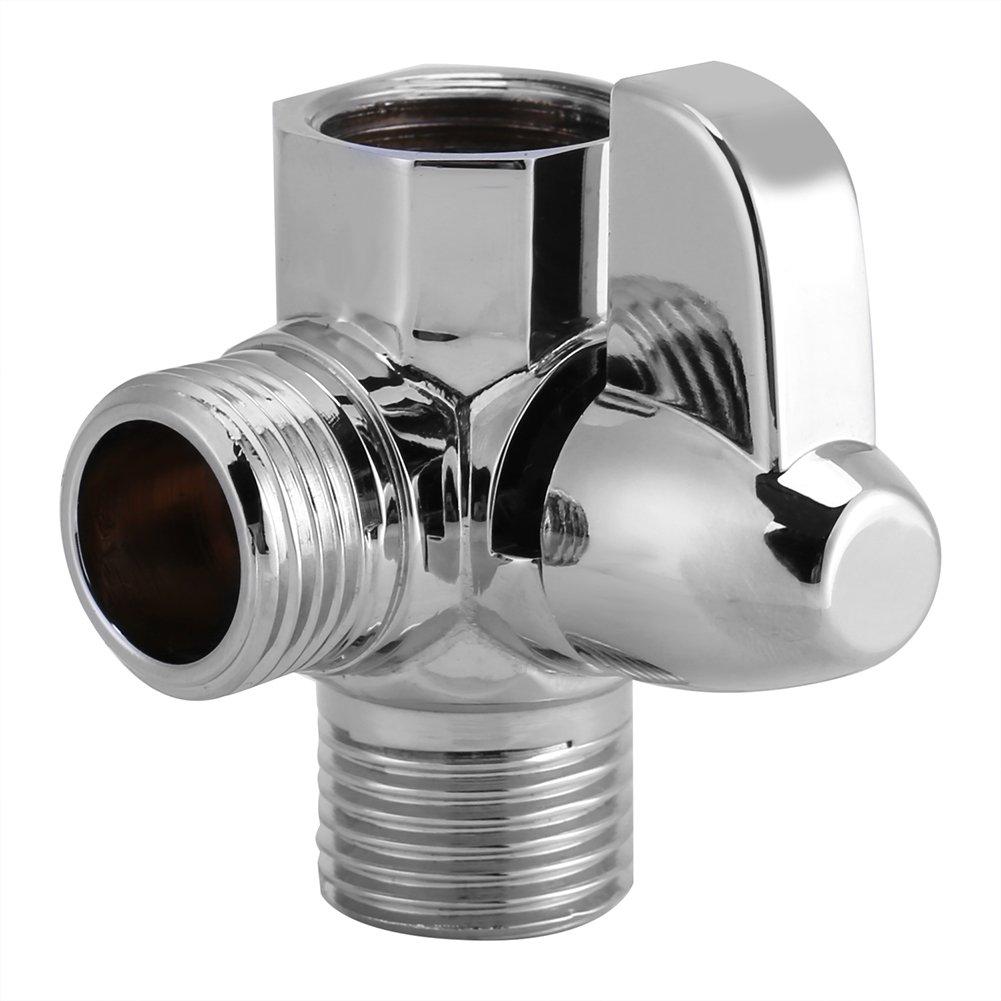 3 Wege Umschaltventil G1/2' T Form Brause Dusche Adapter Duschsystem Ersatzteil fü r Dusche Garosa