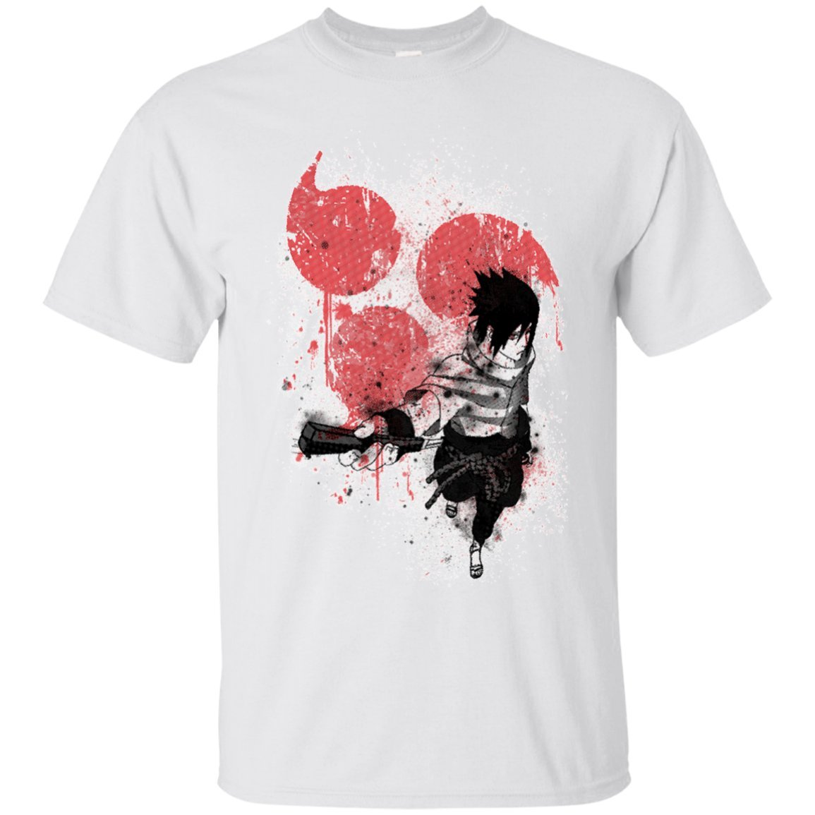 9fece1bb7 Amazon.com: Funny Naruto Apparel -Last Uchiha Member Sasuke Naruto T-Shirt:  Clothing