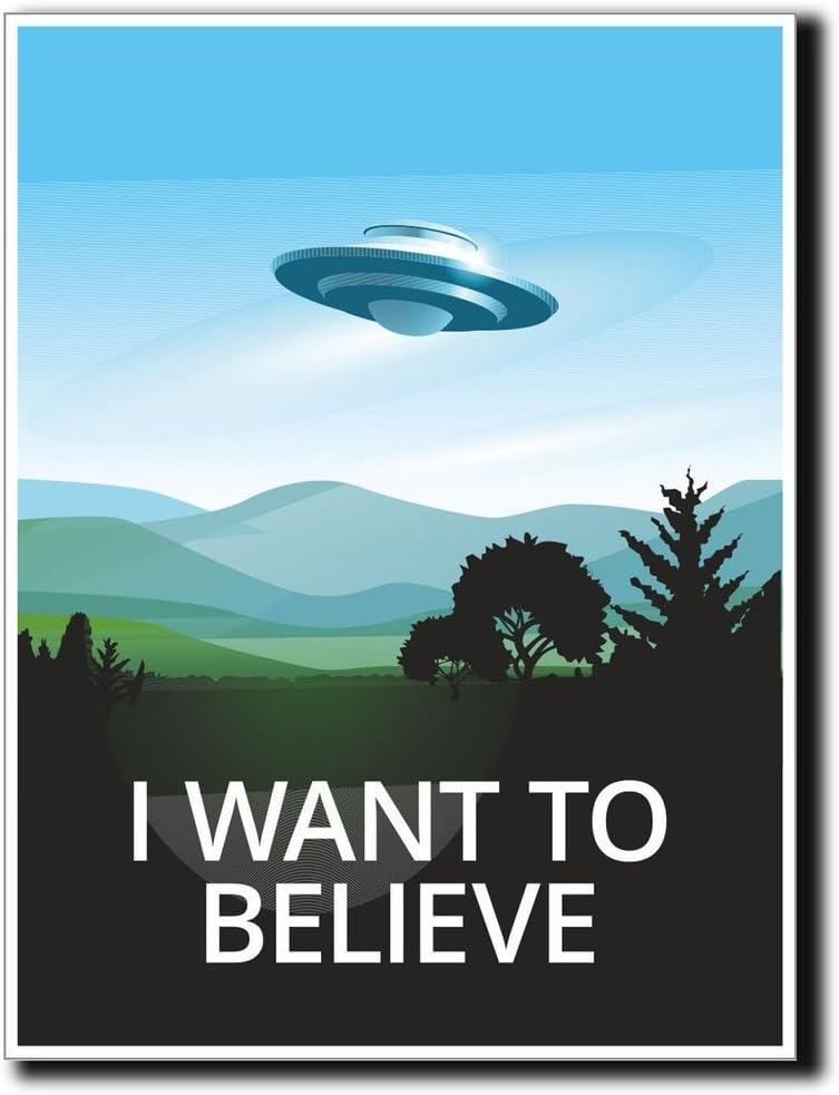 2 x 10cm/100mm UFO Alien X-Files Area 51 Vinyl Sticker Decal Laptop Travel Luggage Car iPad Sign Fun #4057