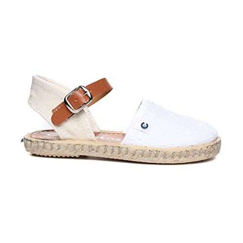 CONGUITOS GV121547, Alpargatas para NI - Niñas Color Blanco Talla: 25 EU: Amazon.es: Zapatos y complementos