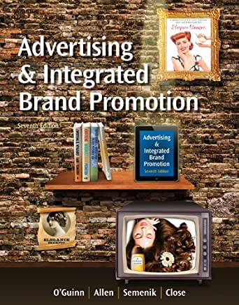 Advertising and integrated brand promotion book