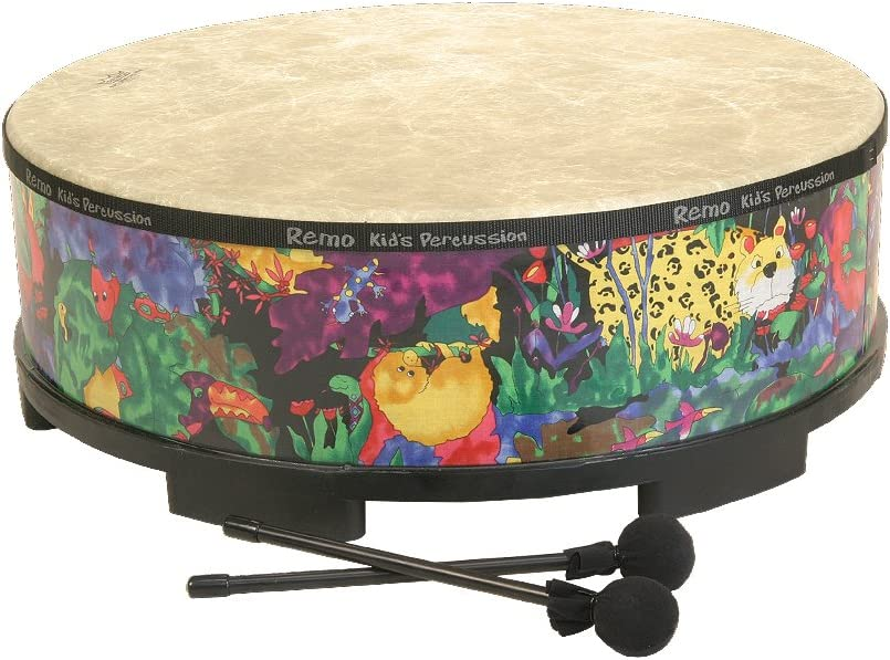 """( Package of 2) Remo Gathering Drum 22"""" x 8"""" Rain Forest"""