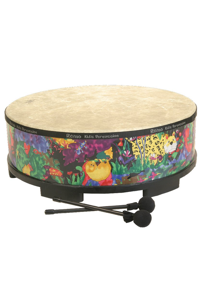 ( Package of 2) Remo Gathering Drum 22'' x 8'' Rain Forest
