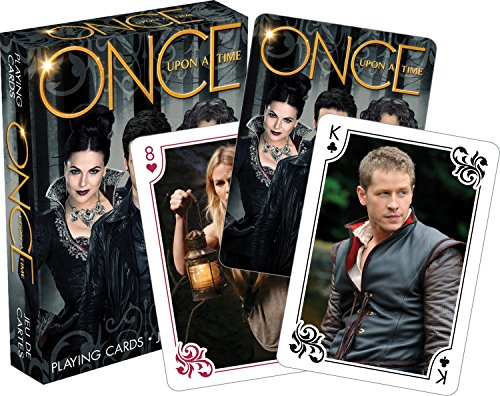 Once Upon A Time Scenes Playing Cards (Evil Fairy Tale Characters)