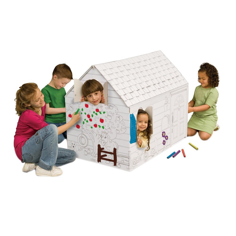 My Very Own House Coloring Playhouse, Hide and Seek