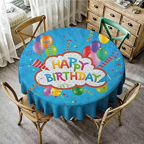 Rank-T Round Tablecloth Theme 60