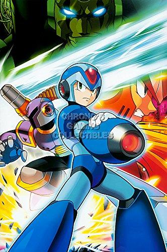 CGC Huge Poster GLOSSY FINISH - Mega Man X Zero Vile Sigma Super Nintendo SNES X2 X3 X4 X5 X6 Megaman Rockman - EXT837 (24