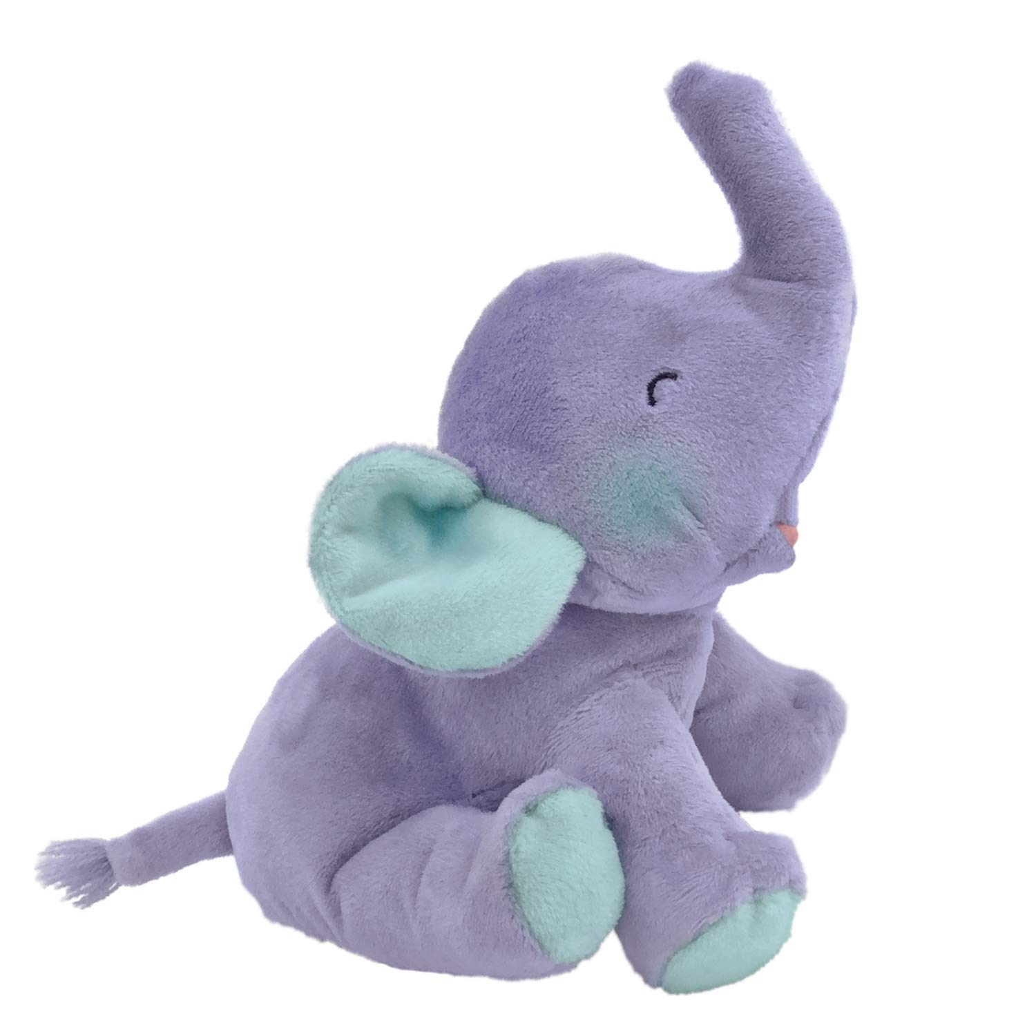 MerryMakers If Animals Kissed Good Night Soft Plush Baby Elephant Stuffed Animal Toy, 8-Inch, from Ann Whitford Paul's If Animals Kissed Good Night Book Series