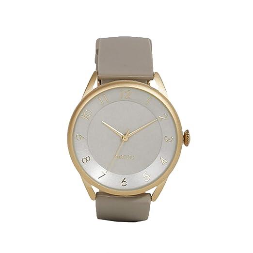 Parfois - Reloj Beige - Mujeres - Tallas Única - Beige: Amazon.es: Relojes