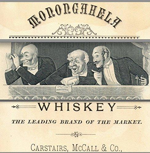 Monongahela Monogram Whiskey Carstairs, McCall & Co NY Phila Boston Trade (Boston Monogram)