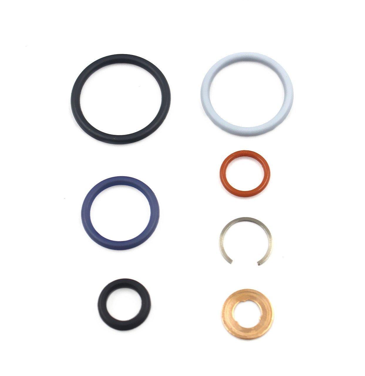 DEF AP0002 G2.8 Injector Seal Kit for Ford Powerstroke 4.5L LCF 2006-2010 6.0L 2003-2010 6.0L Navistar 2002.5-2010 3C3Z9229AA CM5055 1843682C91 Set of 1
