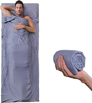 MIFFIYA Saco de Dormir Sábanas Bolsas de Dormir Ligero Hecho de ...