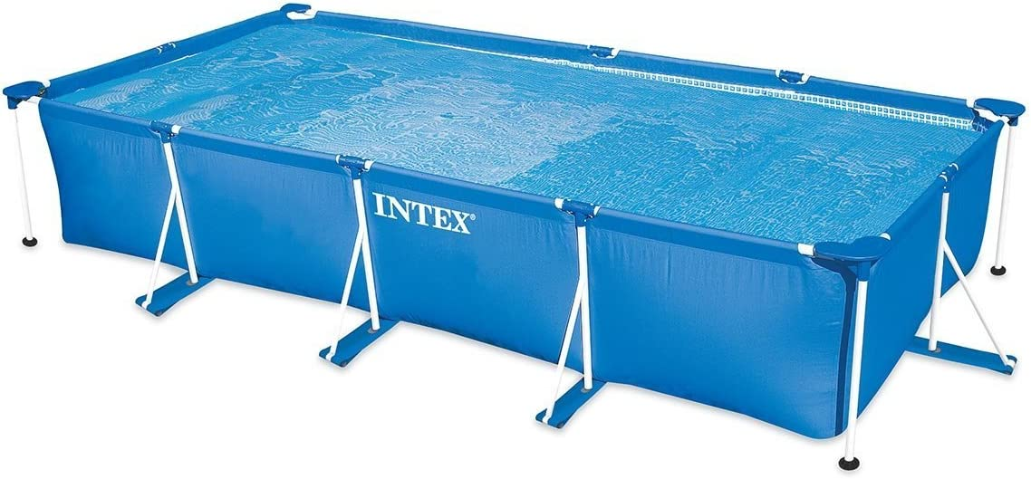 Intex 28274FR - Kit de Piscina Tubular, Estructura de Metal Azul, 4, 5 x 2, 2 x 84 cm, 7100 L: Amazon.es: Jardín