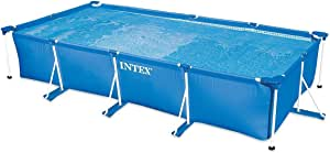 Intex 28274FR - Kit de Piscina Tubular, Estructura de Metal Azul ...