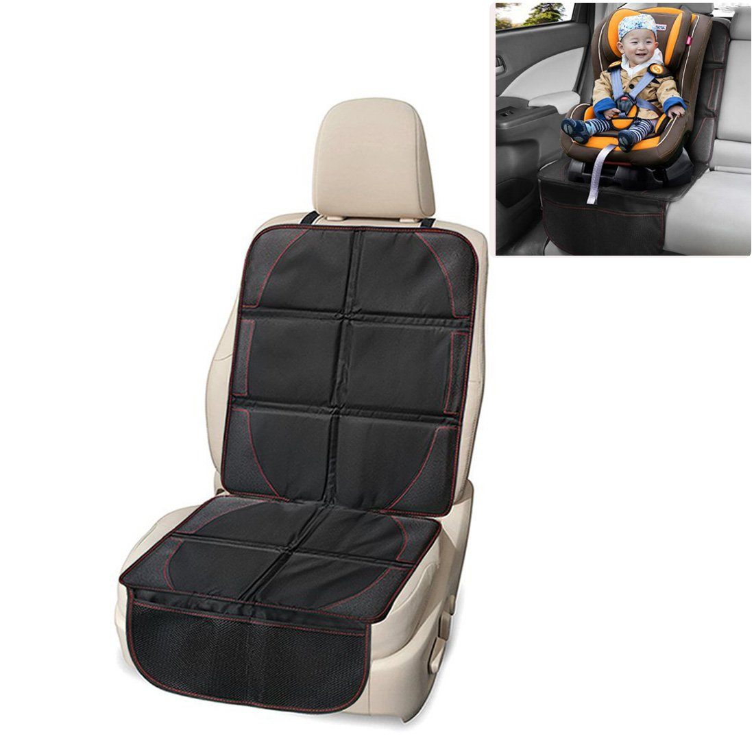 Child Car Seat Protector Waterproof Foldable Car Seat Cover Protector Dog Mat with Thickest Padding for Child & Baby Cars Seats-Universal Fit WCH AUTO ACCESSORIES LIMITED FLROSP02