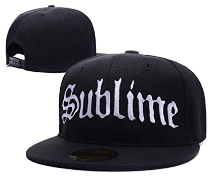 a5ea1df5ff5 Amazon.com  Sublime Band Logo Adjustable Snapback Embroidery Hats ...