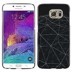 LECELL--Funda protectora / Cubierta / Piel For Samsung Galaxy S6 SM-G920 -- Sphere Minimalist Architecture --