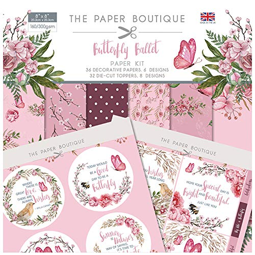 The Paper Boutique The Butterfly Ballet Paper Kit