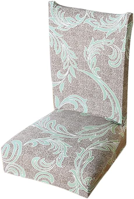 Gaosaili Stretch Removable Short Dining Chair Cover Seat Slipcover