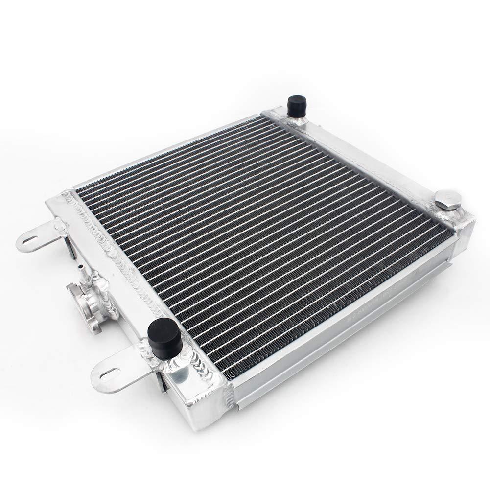 TARAZON ATV Super Radiator Engine Cooling for Polaris Scrambler 500 2001-2009//Scrambler 400 01 02