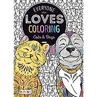 Bendon Everyone Loves Libro para Colorear, como Perros y Gatos