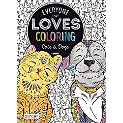 Bendon Everyone Loves Coloring Book - Cats & Dogs
