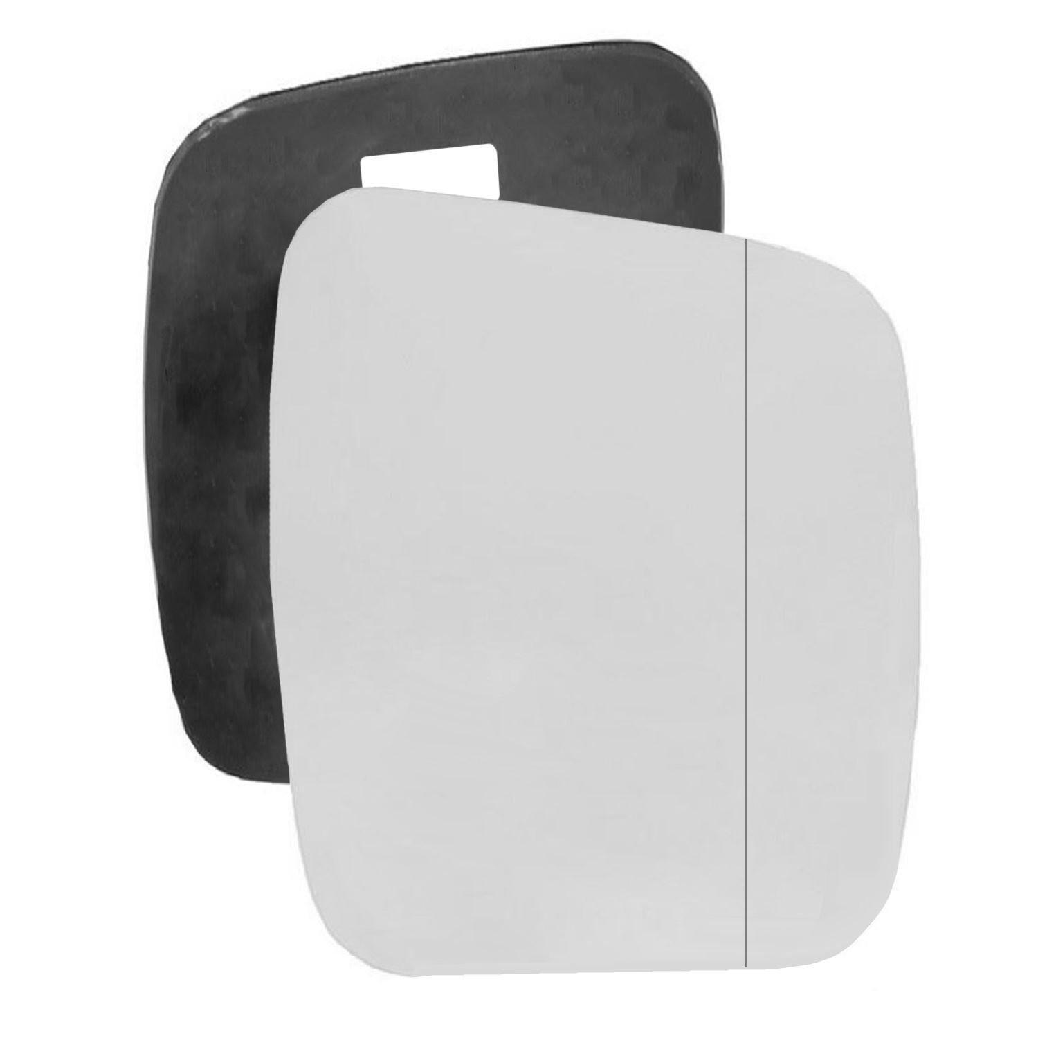 For Citroen Nemo 2008-2015 Driver right hand side wing door mirror wide angle glass with backing plate Sylgab