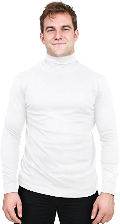 Utopia Wear Premium Cotton Blend Interlock Turtleneck