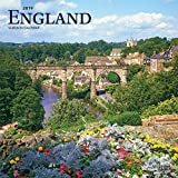 England 2019 12 x 12 Inch Monthly Square Wall Calendar, UK United Kingdom Scenic (Multilingual Edition)