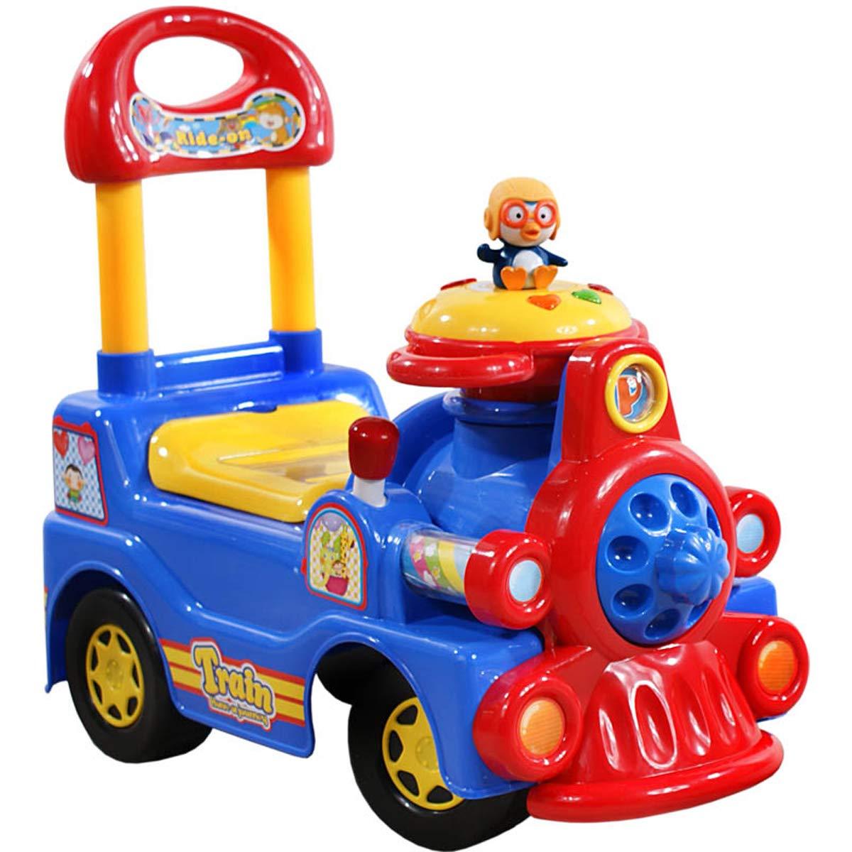 422 Rutscher Kinder Auto Zug Kinderauto Rutschauto Aufsitz-Auto Kinderfahrzeug (Blau) scalesport 616A
