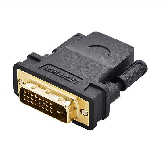 2 opinioni per DVI su HDMI, Ugreen Adattatore da HDMI Femmina a DVI-D 24+1 Maschio Full HD