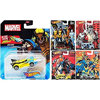 Amazon.com: Hot Wheels Attack Marvel Hero Double Thanos ...