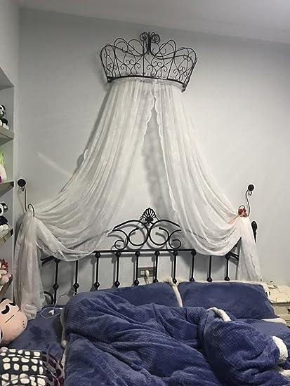 Letto a baldacchino principessa,Ferro battuto europeo copriletto ...