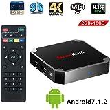 X96 Mini Smart TV Box Android, 7.1, Wingogo 2GB 16GB AMLOGIC Quad Core 2.4GHz WiFi 4 K Smart Set Top Box