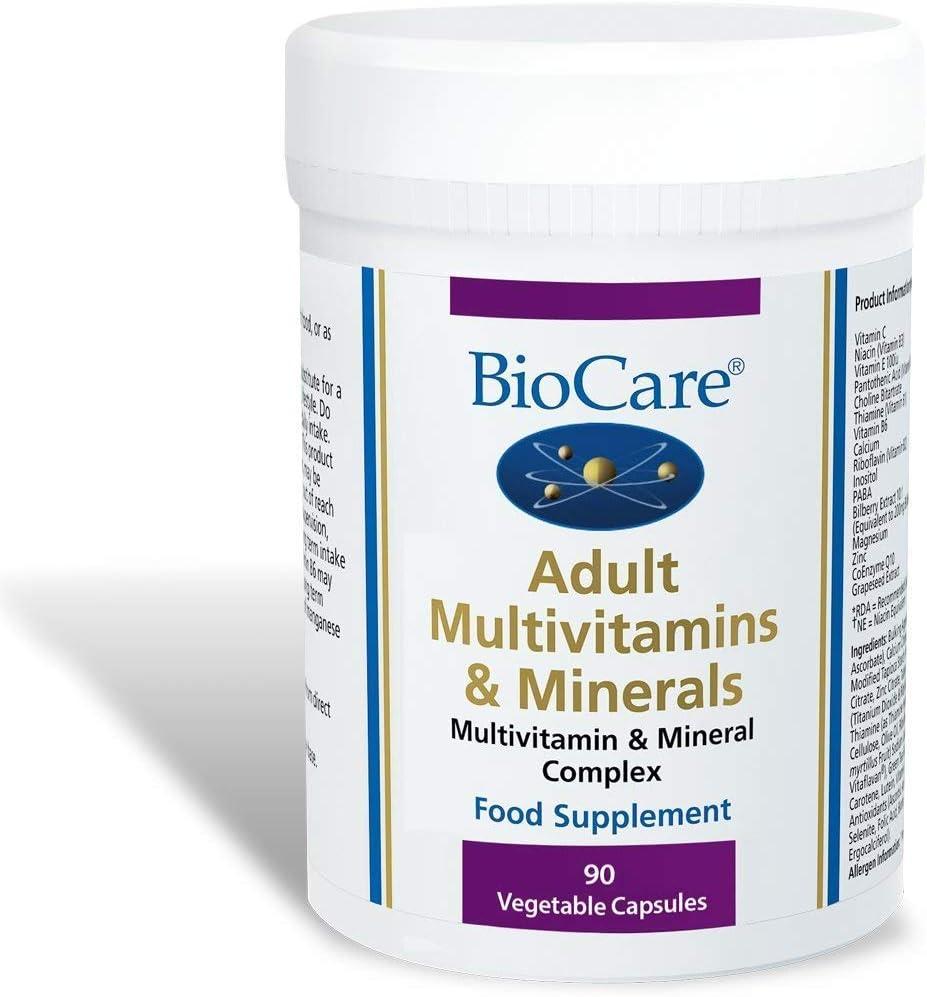 BioCare Adult Multivitamins And Minerals - 90 Vegicaps