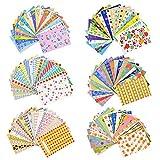 Sunmns 120 Sheets Colorful Photo Instant Films Sticker for FujiFilm Instax Mini 9/8/ 7s/ 70/26/ 50s/ 90 Camera Film