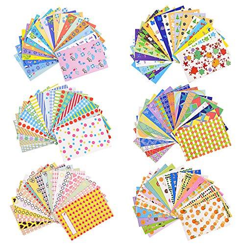 Sunmns 120 Sheets Colorful Photo Instant Films Sticker for FujiFilm Instax Mini 9/ 8/ 7s/ 70/ 26/ 50s/ 90 Camera (Fuji Photo Printers)