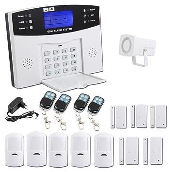 BQLOVE Kit de Alarma inalámbrica para el hogar, Sistema de ...