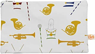 Kess interne 12.5 x 21,6 cm'Stephanie Vaeth Marching Band' tutto, colore oro