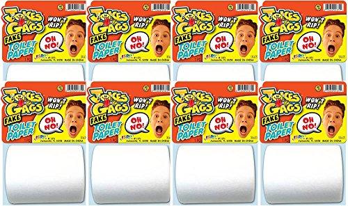 Ja-Ru Jokes & Gags Fake Toilet Paper Bundle Pack