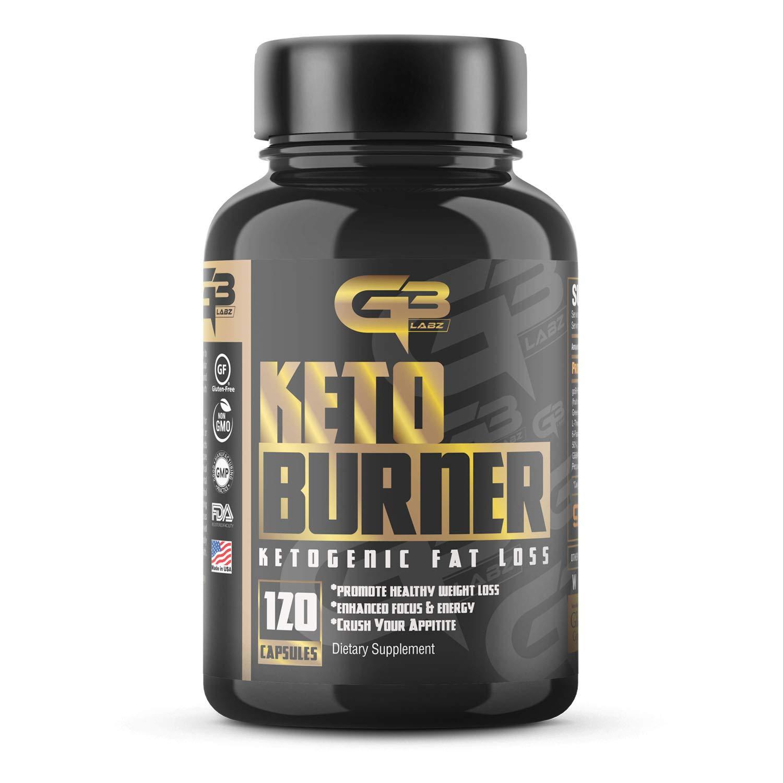 Keto Burner Pills, Exogenous Ketones W/ 2g Go Bhb Keto Supplement & Garcinia Cambogia Blend for Men & Women. Ketone Supplement for Focus, Energy, Ketosis (1) by GLADIATOR GYM GEAR