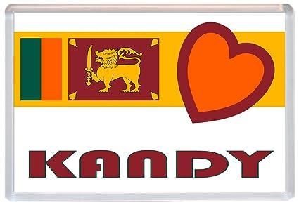 Kandy - Love Sri Lanka/Lanka bandera ciudades y ciudades - Jumbo ...