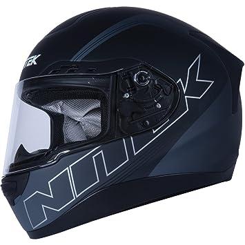 Nitek Stealth P1 de carretera racing – Casco de Moto soporte de negro