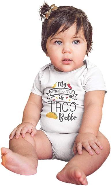 Infant Baby Boys Girls Summer Clothes Onesies Jumpsuits 3-18 Months Letter Taco Little Burrito Romper Bodysuit