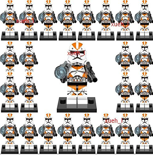TONGROU 25sets Minifigures Force Awakens Clone Trooper Building block Utapau