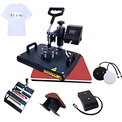 12x15 Transfer Swing Panel Heat Away Industrial Shirt 5in1 Hatmugplatecapt Combo Press Multifunction Bettersub Machine Ce Quality cFJlKT13