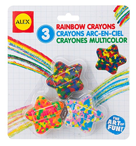 (ALEX Toys Artist Studio Star Shaped Multi Color Crayons (pack of 3))