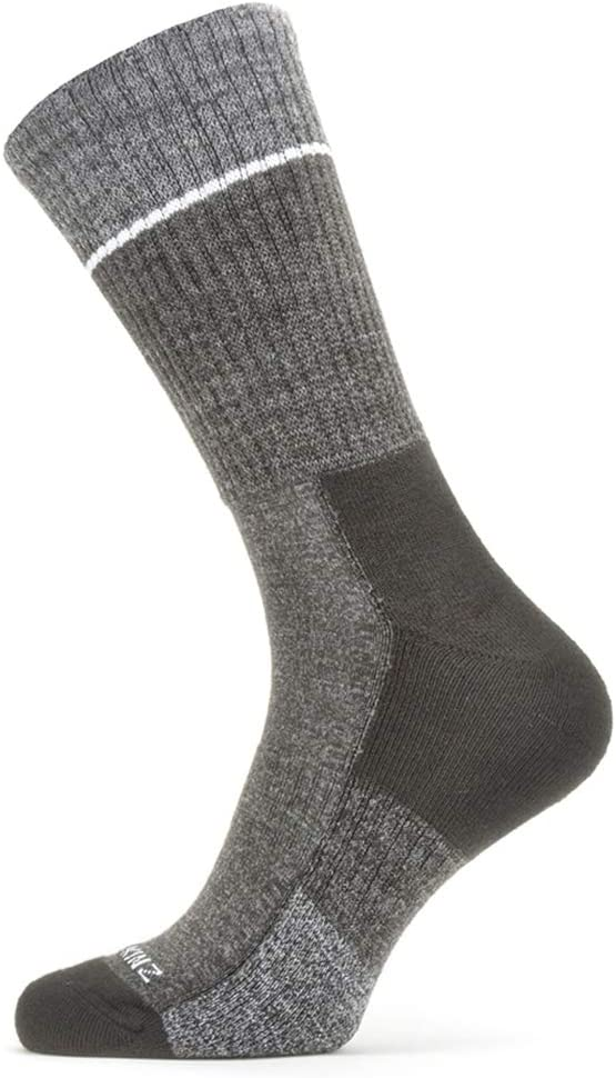 Grey Sports Outdoor Hiking Shooting SealSkinz Socks Unisex Solo Quickdry Ankle