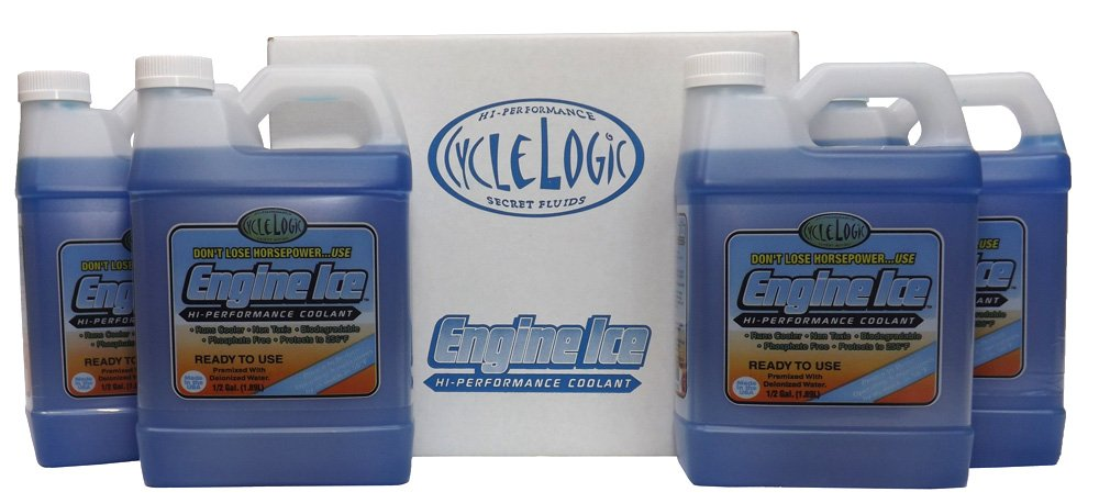 Engine Ice TYDS008C High Performance Coolant, (Case of 4)
